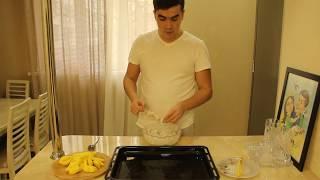 Куриный шашлык в духовке на шпажках // шашлык из куриной грудки // рецепт куриного шашлыка в духовке