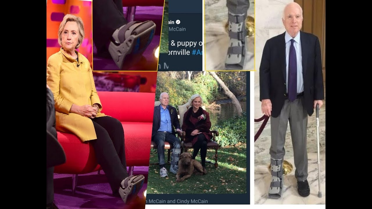 Image result for mccain switched foot boot