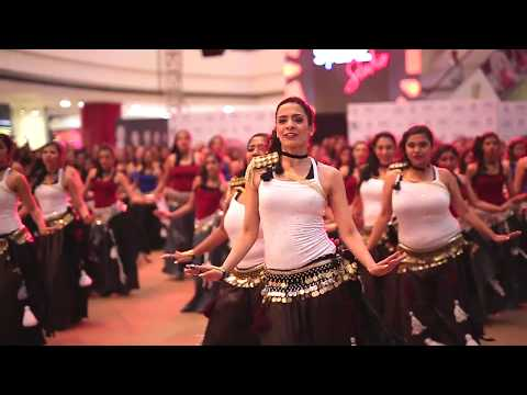 BELLYSMA 2017 - Largest Belly Dance Flashmob