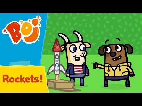 Boj - Rockets! | Cartoons for Kids