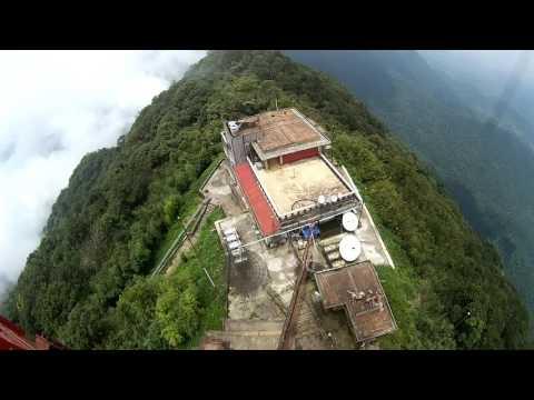 Tháp truyền hình Tam Đảo 360° 10 phút - Climbing high Radio Tower VietNam