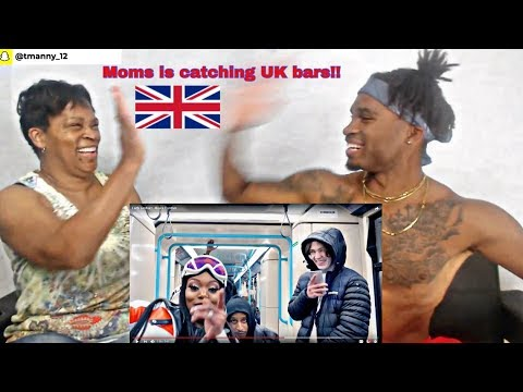 MOM CATCHING UK BARS!! | LADY LESHURR - #BLACK PANTHER | #REACTION