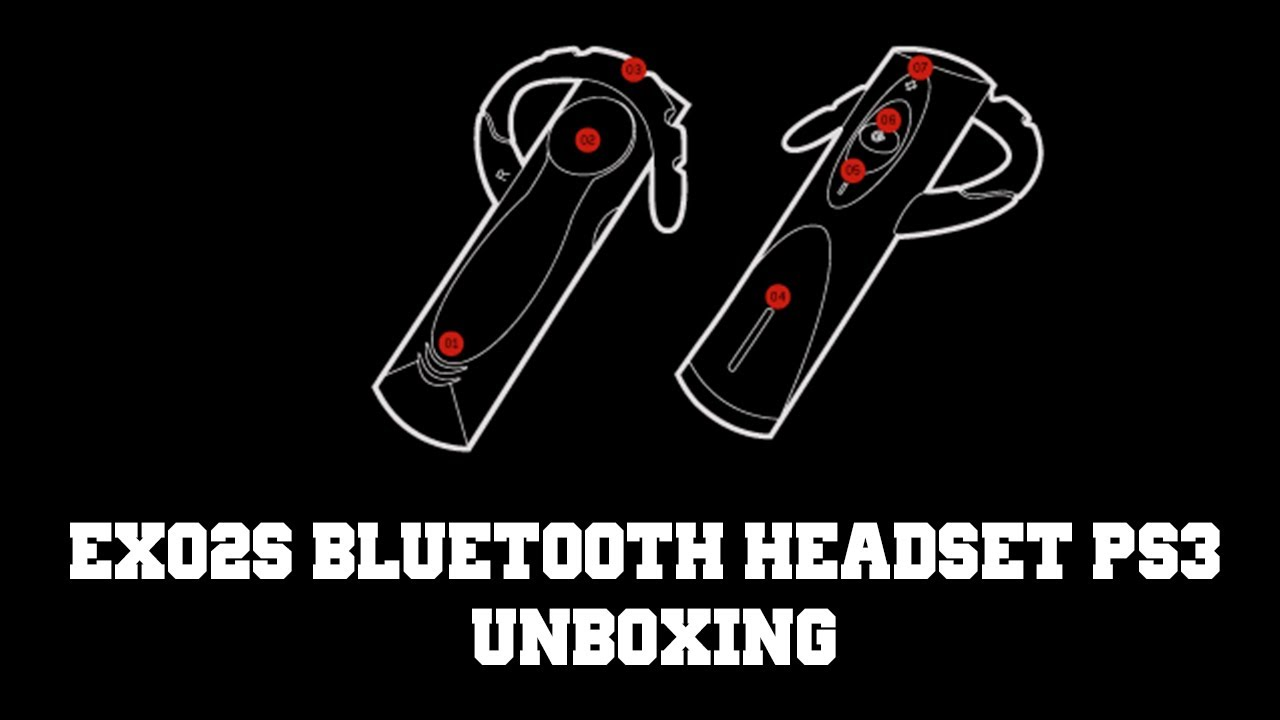 ex02s gioteck bluetooth headset ps3 unboxing youtube. Black Bedroom Furniture Sets. Home Design Ideas