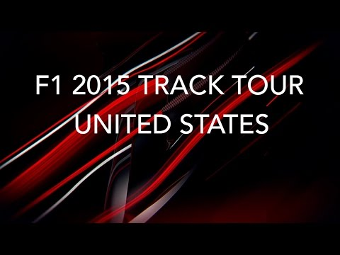 F1 2015 United States Track Tour