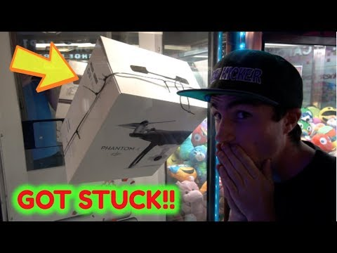 WON A DJI PHANTOM DRONE FROM MEGA STACKER!!!
