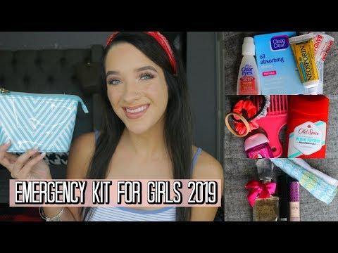 Back To School: Emergency Kit For Girls 2019!