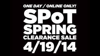 SPoT Spring Clearance Sale