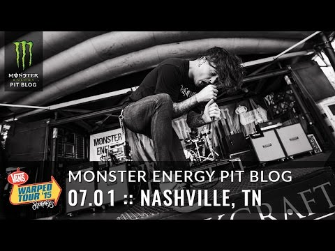2015 Monster Energy Pit Blog: Nashville