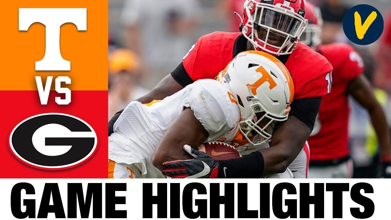#14 Tennessee vs #3 Georgia Highlights   Week 6 College Football Highlights   2020 College Football