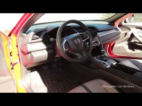2016 Honda Civic base coupe review (with manual transmission)