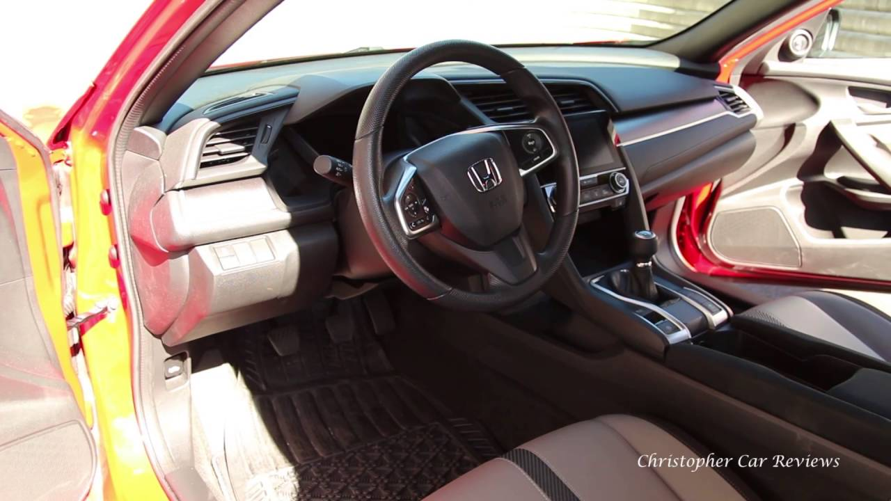 2016 Honda Civic base coupe review (with manual transmission) on