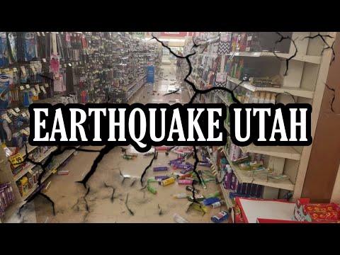 EARTHQUAKE IMAGES UTAH 5.7 💥😱 - IMÁGENES TERREMOTO UTAH 5.7 💥