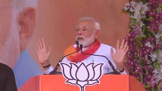 PM Shri Narendra Modi addresses public meeting in Patan, Gujarat : 21.04.2019