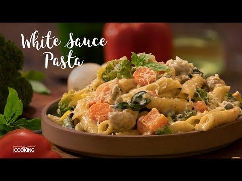 White Sauce Pasta |  Pasta Recipe
