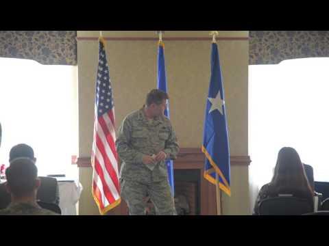 Technical Sergeant Eric Perez Retirement