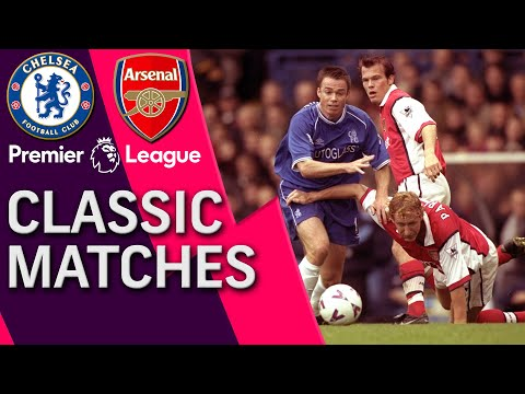 Chelsea V. Arsenal | PL CLASSIC MATCH (WITH DIXON AND LE SAUX COMMENTARY) | 10/23/99 | NBC Sports