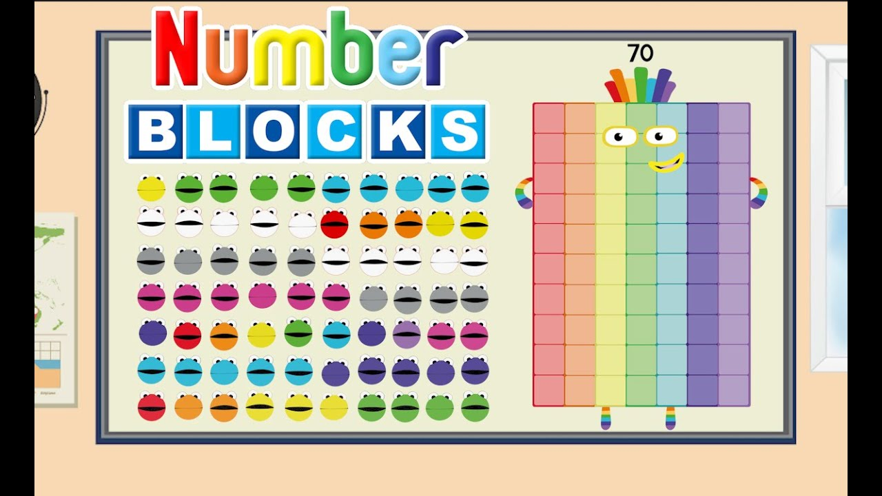 Numberblobs up to 100