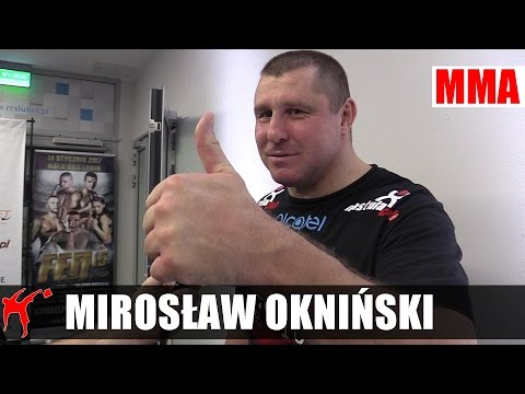 Mirosław Okniński o Jotce, Omielańczuku i Polakach w UFC
