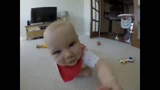 Малыш сьел GoPro. The kid ate GoPro.