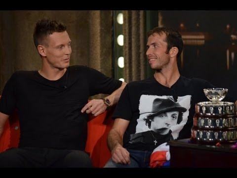 1. Radek Štěpánek a Tomáš Berdych - Show Jana Krause 14. 12. 2012