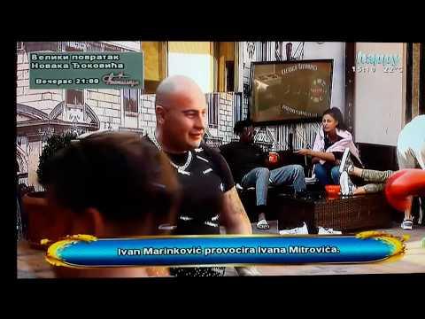 HIT Odrzane MMA borbe u vili parova 7 Ivan Mitrovic Biza napravio haos u vili parova 7