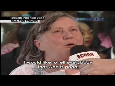 EMMANUEL TV VIDEOS   HUNGARIAN WOMAN HEALED OF BONE ISSUES 2