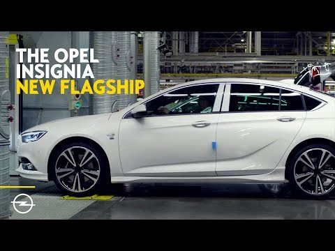 The Opel Insignia: Production Begins