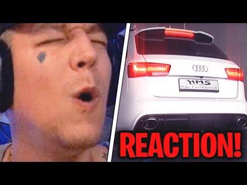 Reaktion auf heftige AUTO SOUNDS😱 MontanaBlack Reaktion