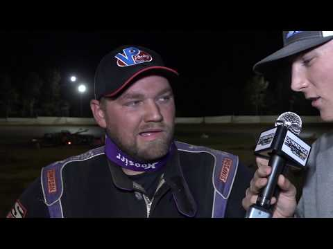Durrence Layne Dirt Late Model Series Camden Speedway Top 3 Interviews 9-21-19