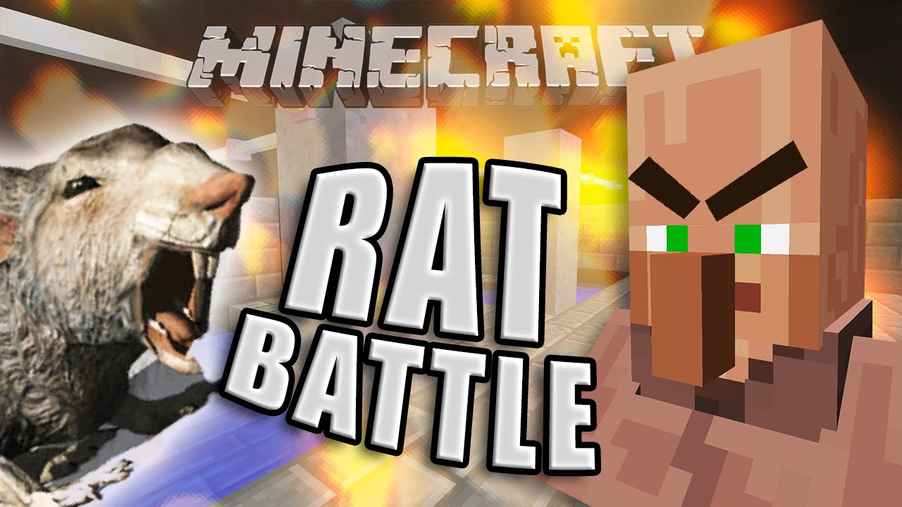 Minecraft A Day To Remember Rat Battle Youtube