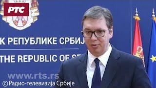 Vučić: Ako hoćete da razgovarate, onda ne zakucavate poziciju