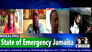 STATE OF EMERGENCY A PANELL DISCUSSION ON RIDEALONG PRG.