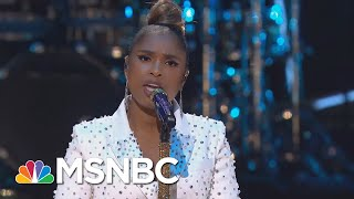 Jennifer Hudson Performs Hallelujah | MSNBC YouTube Videos