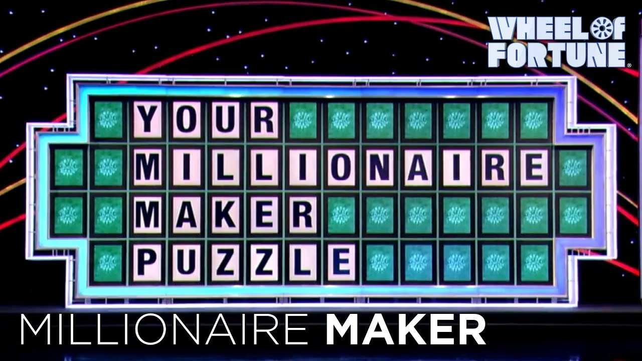 wheel of fortune: millionaire maker sweepstakes - youtube, Powerpoint templates