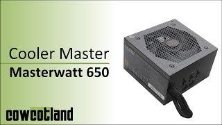 [Cowcot TV] Présentation alimentation Cooler Master Masterwatt 650