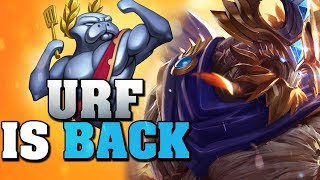 SUPER TANK MAOKAI IS UNKILLABLE! URF IS BACK League Of Legends Gameplay (URF 2019)