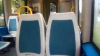 アキーラさん利用③ポルトガル・ポルト・メトロE線・ポルト空港行き!Metro-LineE bound for airport,Porto in Portgul