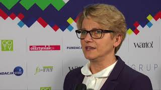 15-lecie Fundacji Przyszłość dla Dzieci - Krystyna Piskorz-Ogórek dyrektor Szpitala Dziecięcego