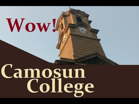 Camosun College Lansdowne Campus Nature Video