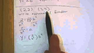 كتابة الأسي وظيفة معينة 2 نقطة.