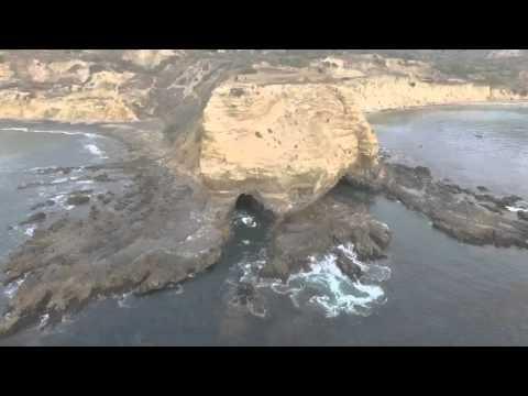 Drone flight 48, Palos Verdes Portuguese point to Inspiration point sea caves