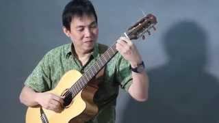AKU CINTA DIA - Jubing Kristianto (guitar)