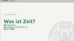 Sitzung vom 15.1.2019: Bergson und Heidegger über Zeit