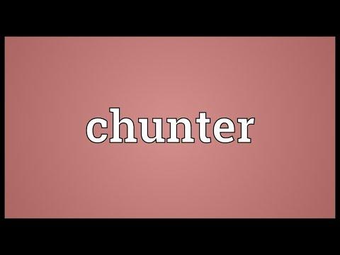 Header of chunter