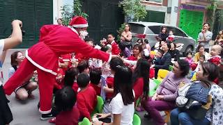 Đố vui nhận quà Noel 2018 - Mầm Nhỏ Kindergarten | Mushroomdiary