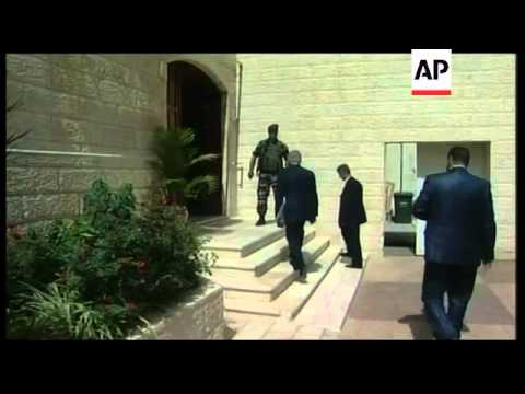 Abbas meets senior Palestinians over future of talks