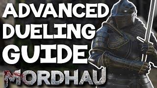 Advanced Dueling Guide - Mordhau (Movement, Offense, Defense, Settings, Builds)