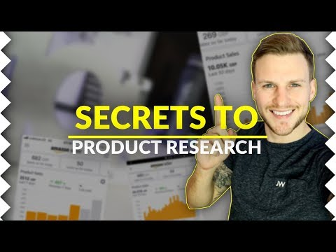 The MOST Valuable Amazon FBA Product Research Tutorial EVER!!! 2019