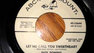 Watch Fats Domino Let Me Call You Sweetheart video