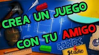 Como Crear un Juego Con Tu Amigo En Roblox Studio!!! #2